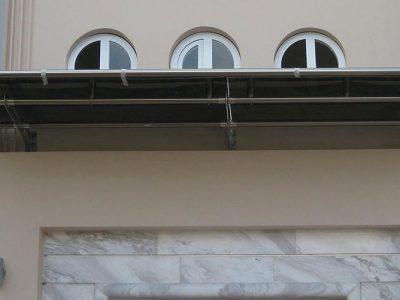 συστήματα αλουμινίου & pvc γκλαβάς - στέγαστρα