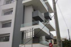 Γυάλινα Κάγκελα 3 glavas aluminium pvc systems