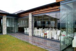 Γυάλινες Πτυσσόμενες Πόρτες F2 glavas aluminium pvc systems