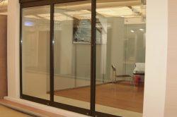 Γυάλινες Πτυσσόμενες Πόρτες F4 Thermo glavas aluminium pvc systems