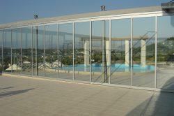 Γυάλινες Πτυσσόμενες Πόρτες F5 glavas aluminium pvc systems