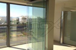 Γυάλινες Πτυσσόμενες Πόρτες F6 glavas aluminium pvc systems