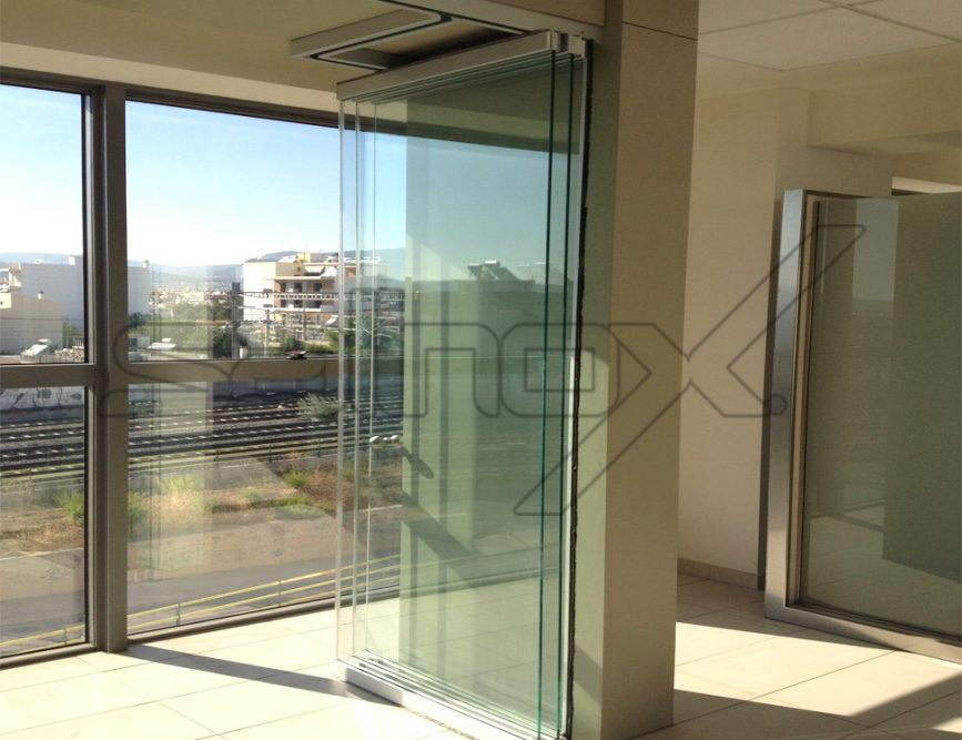 F6 Folding Door Glass Folding Doors Salinox Glavas Aluminum