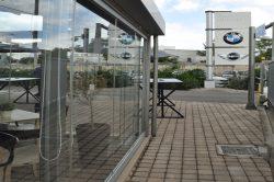 Γυάλινες Πτυσσόμενες Πόρτες F7 glavas aluminium pvc systems