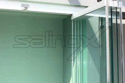 Γυάλινες Πτυσσόμενες Πόρτες FB-CR glavas aluminium pvc systems