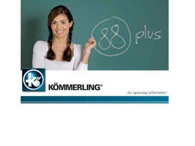 συστήματα αλουμινίου & pvc γκλαβάς - kömmerling 88 plus