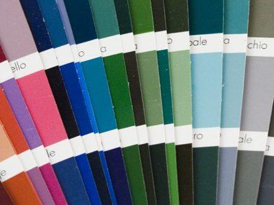 συστήματα αλουμινίου & pvc γκλαβάς - χρώματα