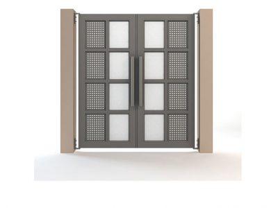 συστήματα αλουμινίου & pvc γκλαβάς - gates