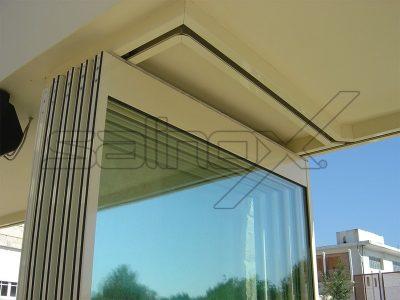 συστήματα αλουμινίου & pvc γκλαβάς - πτυσσόμενες πόρτες f3