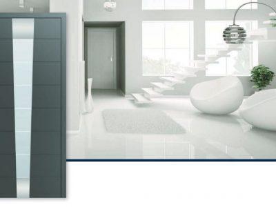 συστήματα αλουμινίου & pvc γκλαβάς - πόρτες εισόδου αλουμινίου
